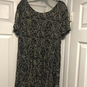 Black and Gold 3X Dress. PRETTY💞